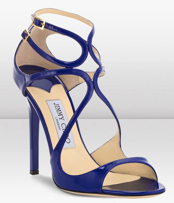 Jimmy Choo Lance Viola Sandals