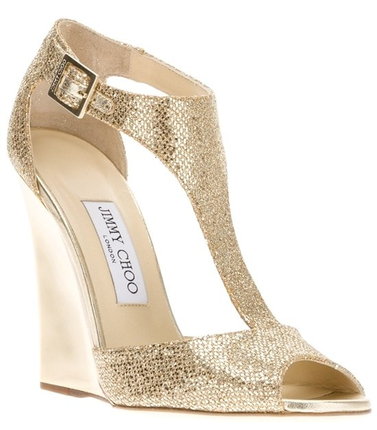 Jimmy Choo Tweak Wedge Sandal