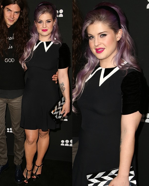 Kelly Osbourne attends the Myspace artist showcase event