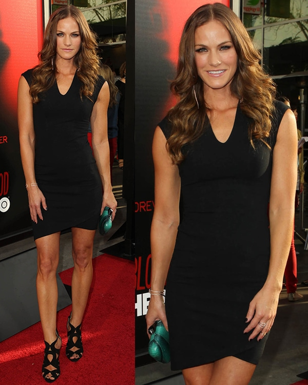 Kelly Overton attends the premiere of HBO's True Blood at ArcLight Cinemas Cinerama Dome