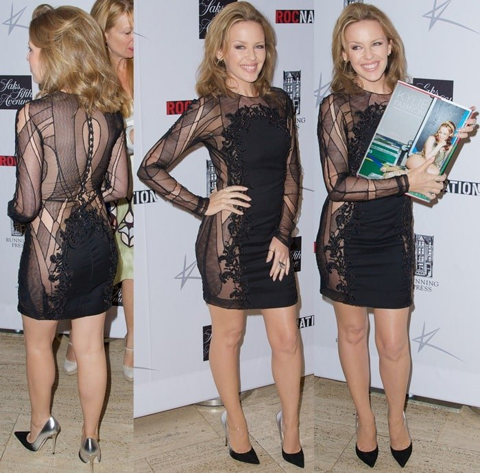 Kylie Minogue at the launch of her book,Kylie Fashion, at Saks Fifth Avenue in New York City on June 17, 2013