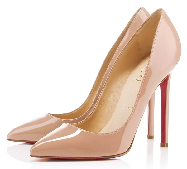 Christian Louboutin 'Pigalle' 120mm Patent Pumps