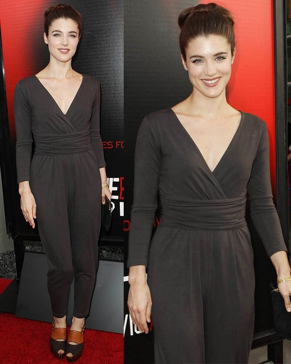 Lucy Griffiths attends the premiere of HBO's True Blood at ArcLight Cinemas Cinerama Dome