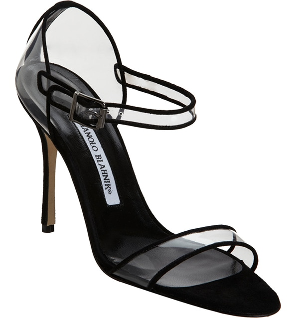 Fersen See-Through Mary Jane Sandals