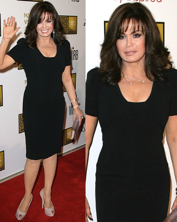 Marie Osmond at Broadcast Television Journalists Association's (BTJA) 3rd Annual Critics' Choice Television Awards held at the Beverly Hilton Hotel in Los Angeles on June 10, 2013
