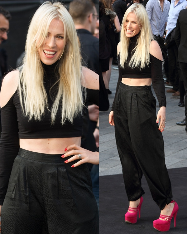 Natasha Bedingfield at the UK film premiere of World War Z held at Empire Leicester Square in London on June 2, 2013