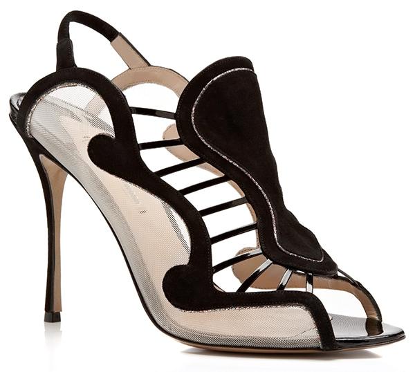 Nicholas Kirkwood Black Sandals