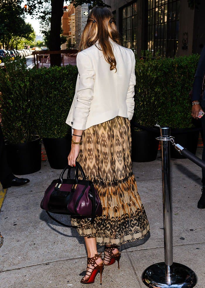 Olivia Palermo at the See by Chloe Spring 2014 presentation in New York City on June 12, 2013