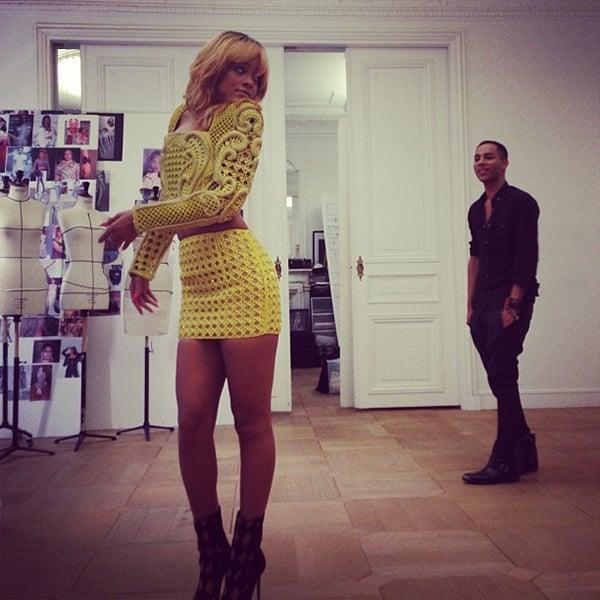 Rihanna Balmain Paris