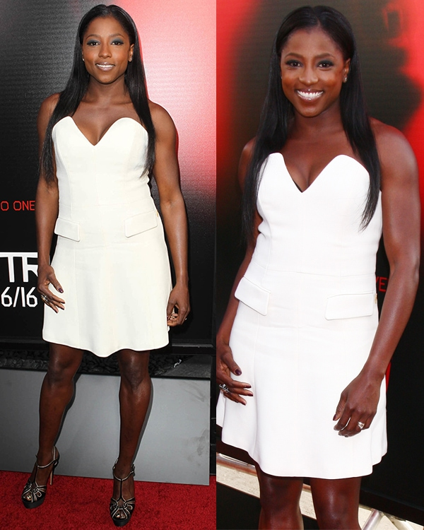 Rutina Wesley attends the premiere of HBO's True Blood at ArcLight Cinemas Cinerama Dome