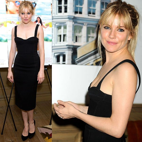Sienna Miller at the special screening ofJust Like a Womanat Crosby Street Hotel in New York City on June 5, 2013