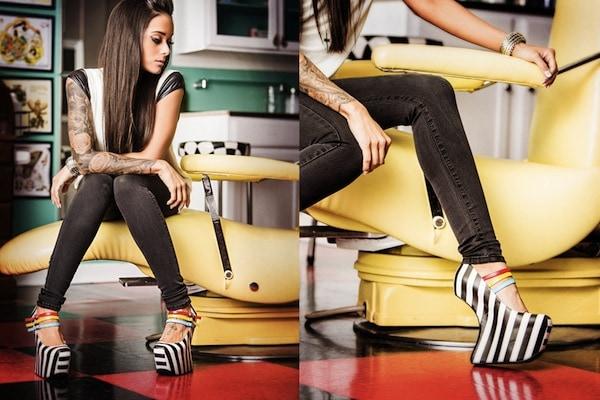 "TaylorSays ""Iris"" Heel-Less Shoes"