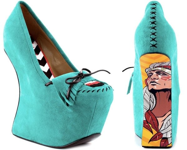 "TaylorSays ""Rory"" Wedges in Teal"