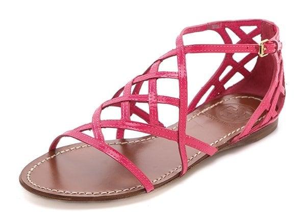 Tory Burch Amalie Sandals Pink
