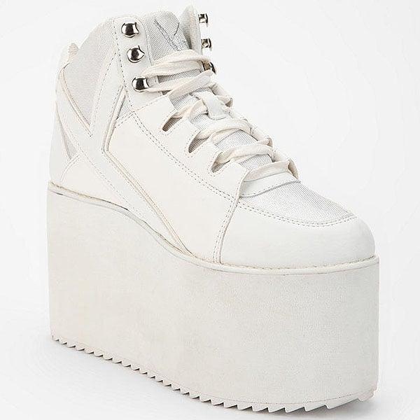 YRU Qozmo High-Top Platform Sneakers