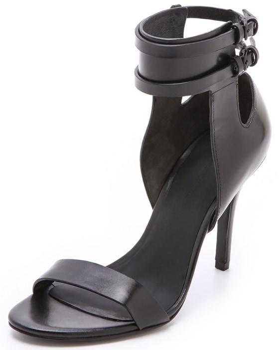 Alexander Wang Johanna Ankle-Cuff Sandals