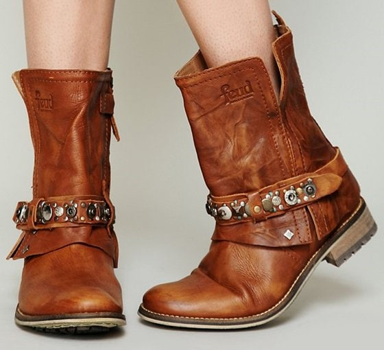 Feud Addison Military Boots