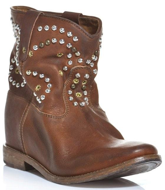 Isabel Marant 'Caleen' Wedge Boots