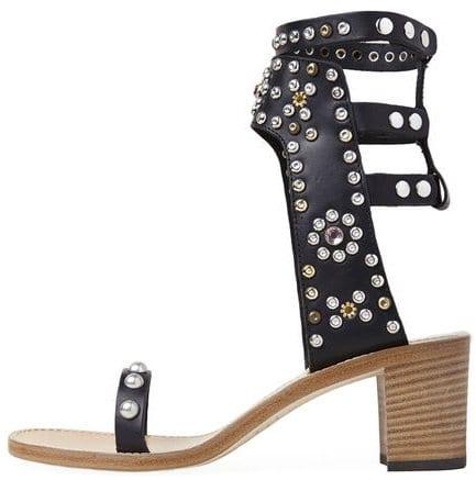isabel marant caroll elvis sandals black