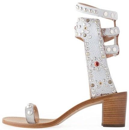 isabel marant caroll elvis sandals white