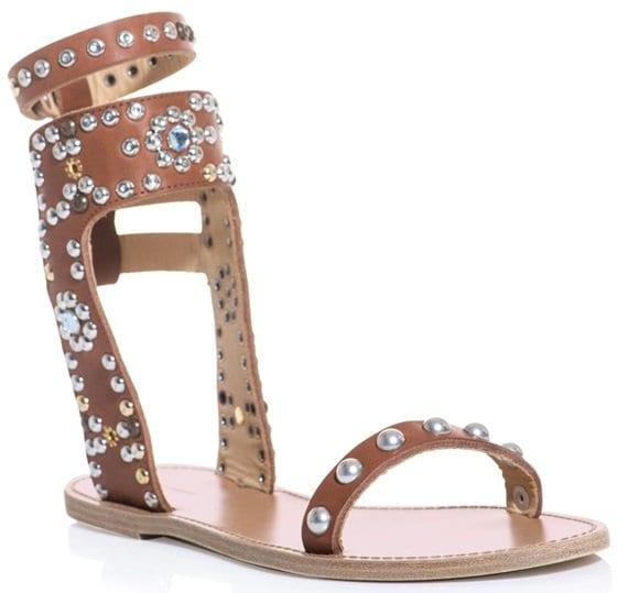 isabel marant tan elvis sandals 2