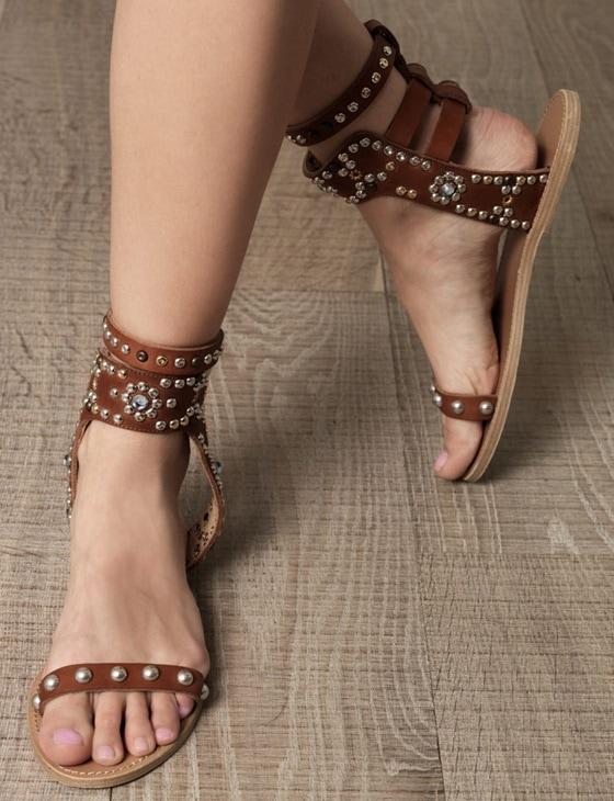 isabel marant tan elvis sandals