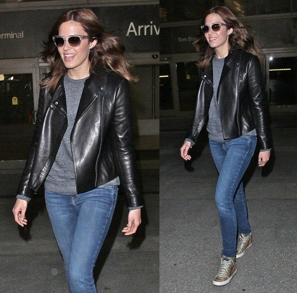 Mandy Moore arriving at LAX in Los Angeles on June 3, 2013