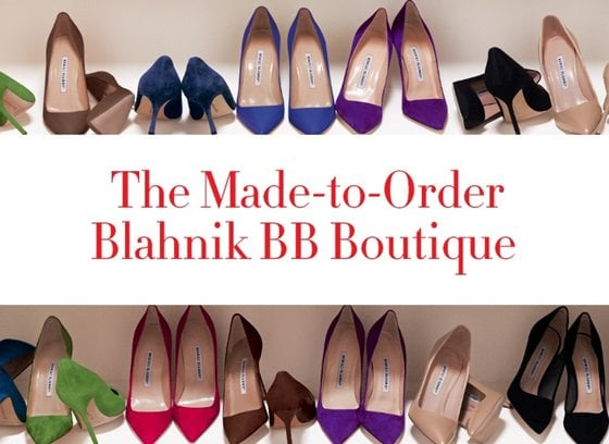 Made-to-Order Blahnik BB Boutique