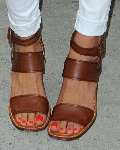 4b72e4ea04a Celebrity Feet   Sandals at Target and FEED Collaboration Launch