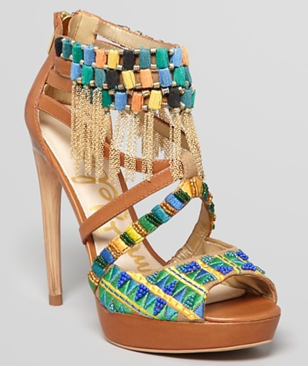 sam edelman blakely tribal heels