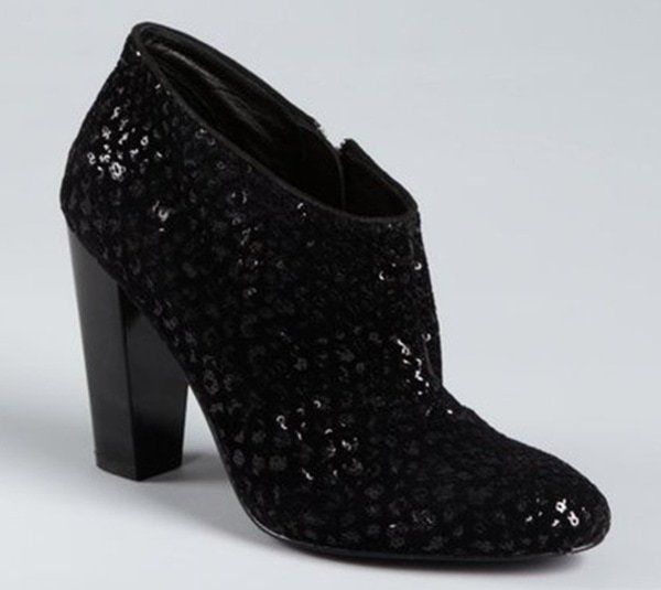 sigerson morrison sequined gisele ankle boot