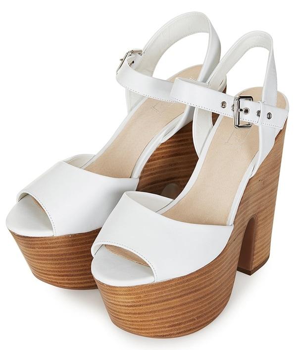 topshop lassie platform sandals