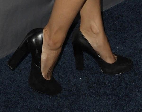5Nadine Velasquez shoes TNT 25th Anniv