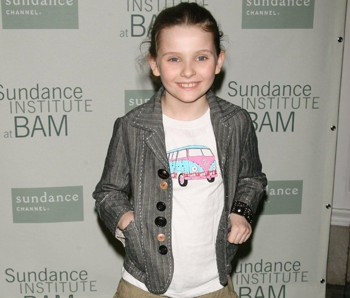 Abigail Breslin was 9-years-old when filming Little Miss Sunshine as Olive Hoover