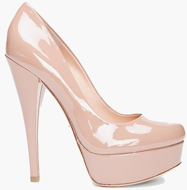 Alejandro Ingelmo Pink Sophia Patent Pump Heels