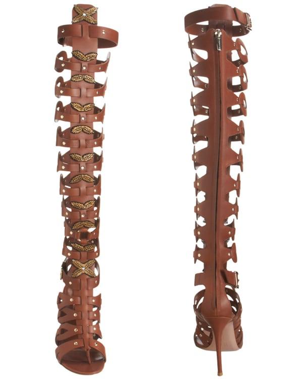 Altuzarra Knee High Gladiator Sandals2