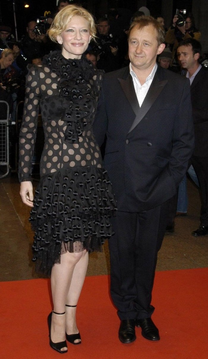 Andrew Upton and his wife Cate Blanchett