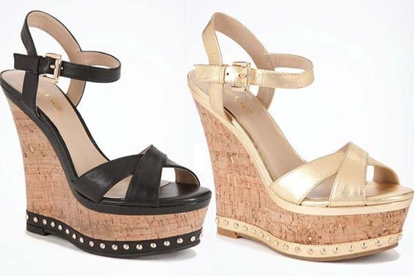 Bebe Shelly Wedges