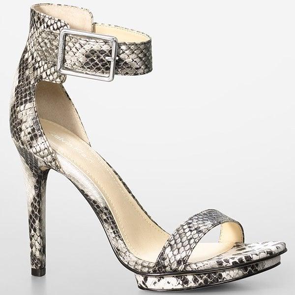 Calvin Klein Vivian Snake Sandals
