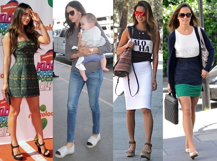 Espadrille Flats and Wedges
