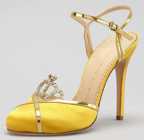 Charlotte Olympia Tiara Sandals