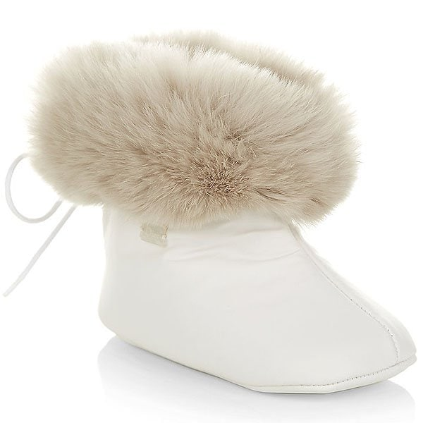 Christian Dior Fur Booties