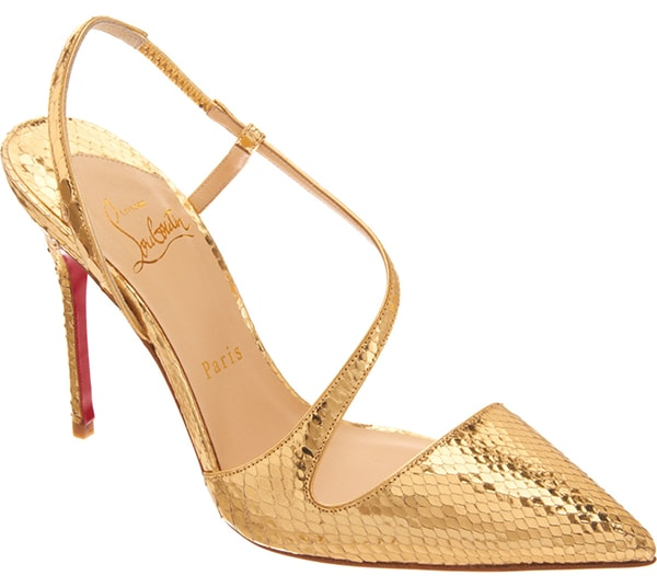 Christian Louboutin Python June pumps