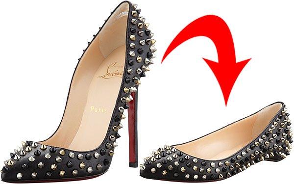 Christian Louboutin heels and flats