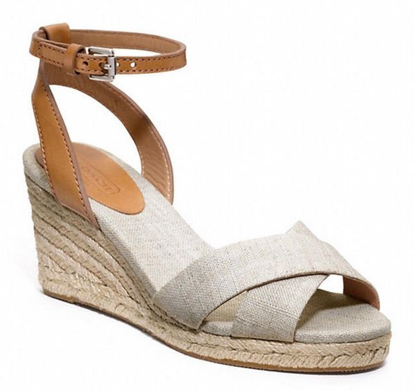 Silver and Ginger Coach Henley Wedges