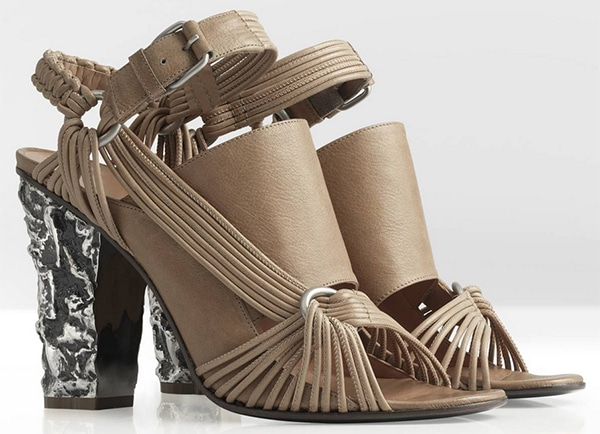 Damir Doma Spring 2013 Sandals Tan