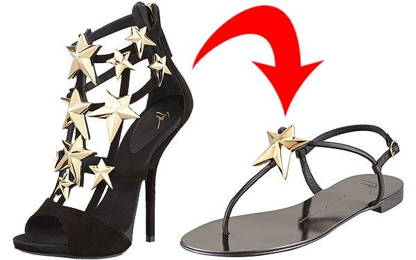 Giuseppe Zanotti heels and flats