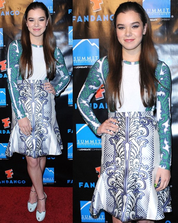 Hailee Steinfeld at the 2013 Comic-Con Summit Entertainment Party held at the Hard Rock Hotel San Diego in California on July 18, 2013