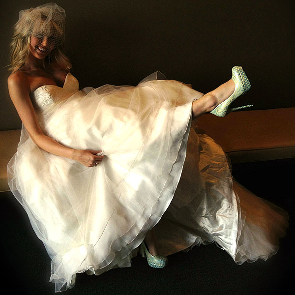 Hourglass Footwear wedding shoes