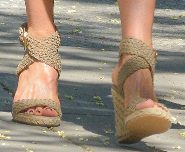 Jennifer Aniston's character seems to love these shoes